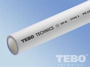Труба полипропиленовая TEBO PN25 40 диаметра армированная алюминием - фото 35